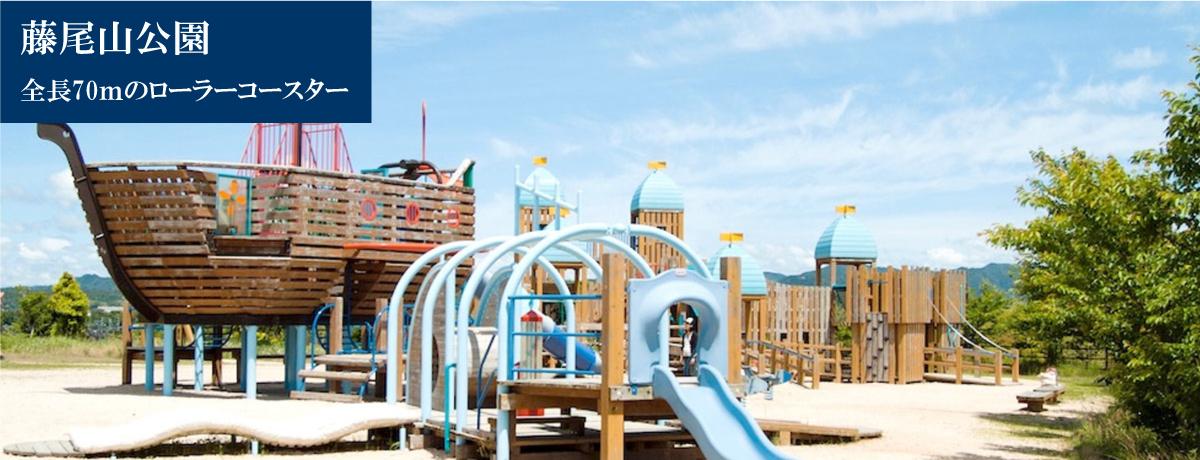 藤尾山公園 全長70mのローラーコースター