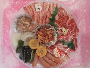 BBQ肉セット2人前4320円税込